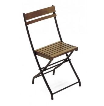 Bistro skládacia stolička Eva