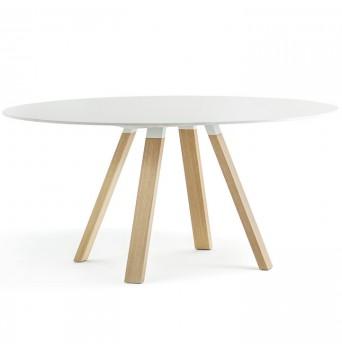 Okrúhly stôl Arki table wood pr. 120 cm