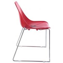 Židle X na podnoži lyže