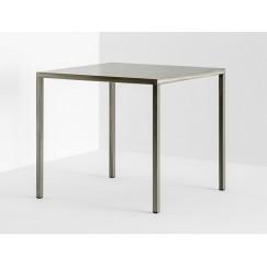 Štvorcový kovový stôl Fabbrico 80x80