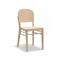 Moderná drevená stolička Aloe