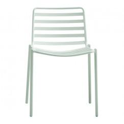 Kovová záhradná stolička Trapomliere
