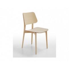 Moderná drevená stolička Joe