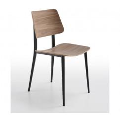 Moderná drevená stolička Joe S M TS-LG
