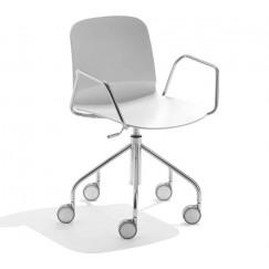 Pracovná stolička na kolieskach Liú DP RS