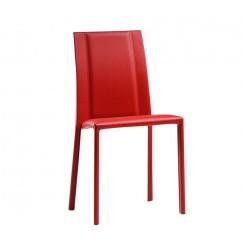 Moderná kožená stolička Silvy SB R CU