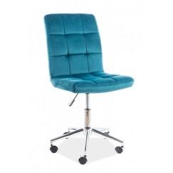 Pracovná stolička na kolieskach Q 020
