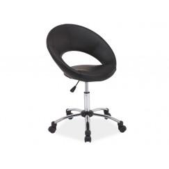 Štýlová pracovná stolička na kolieskach Q 128