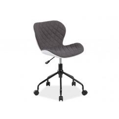 Moderná pracovná stolička na kolieskach Rino