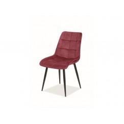 Moderná čalúnená stolička Hic
