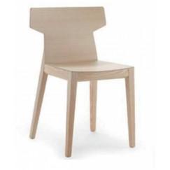 Moderná drevené stolička Rama