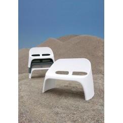 Amélie moderní lavička pro dva