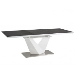 Moderný rozkládací stôl Alaras 120/180x80