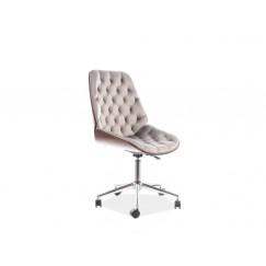 Štýlová pracovná stolička na kolieskach