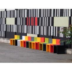 Šikovná milá design židle Angollo Retto