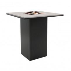 Barový stôl s ohniskom Cosiloft 100x100