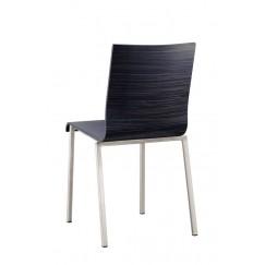 Elegantní dřevěná židle hranatého designu Kuadra 1321