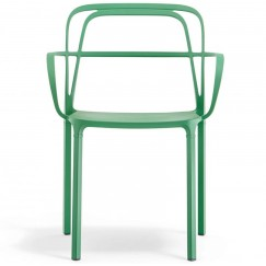 Kovová židle s područkami Intrigo 3715